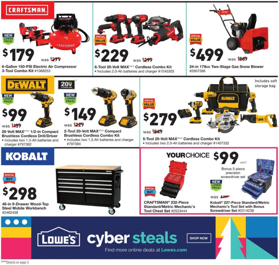 Lowe's Cyber Monday 2020 Page 2