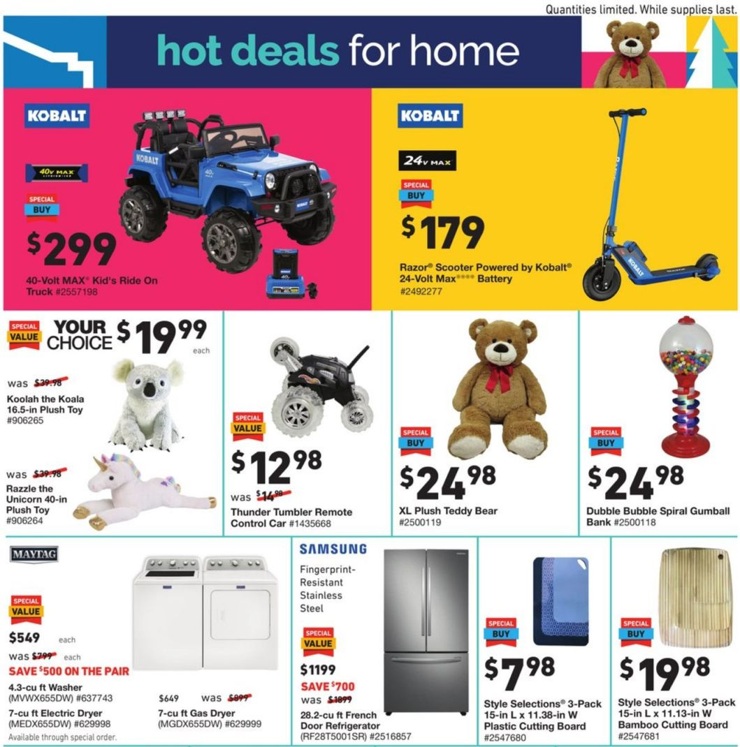 Lowe's Cyber Monday 2020 Page 3