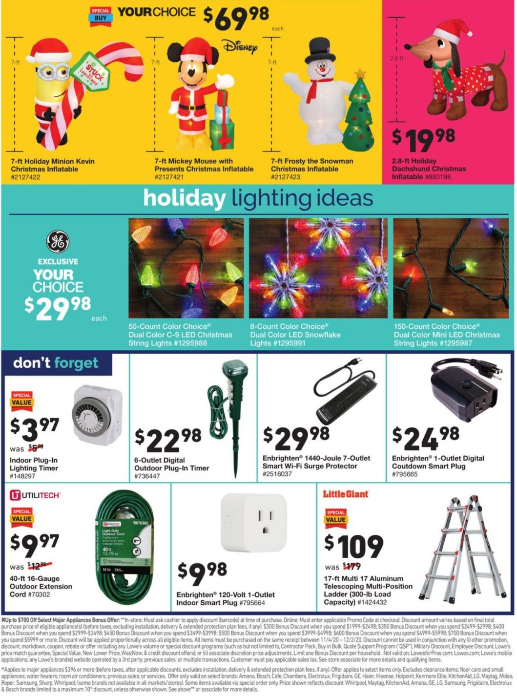 Lowe's Cyber Monday 2020 Page 10
