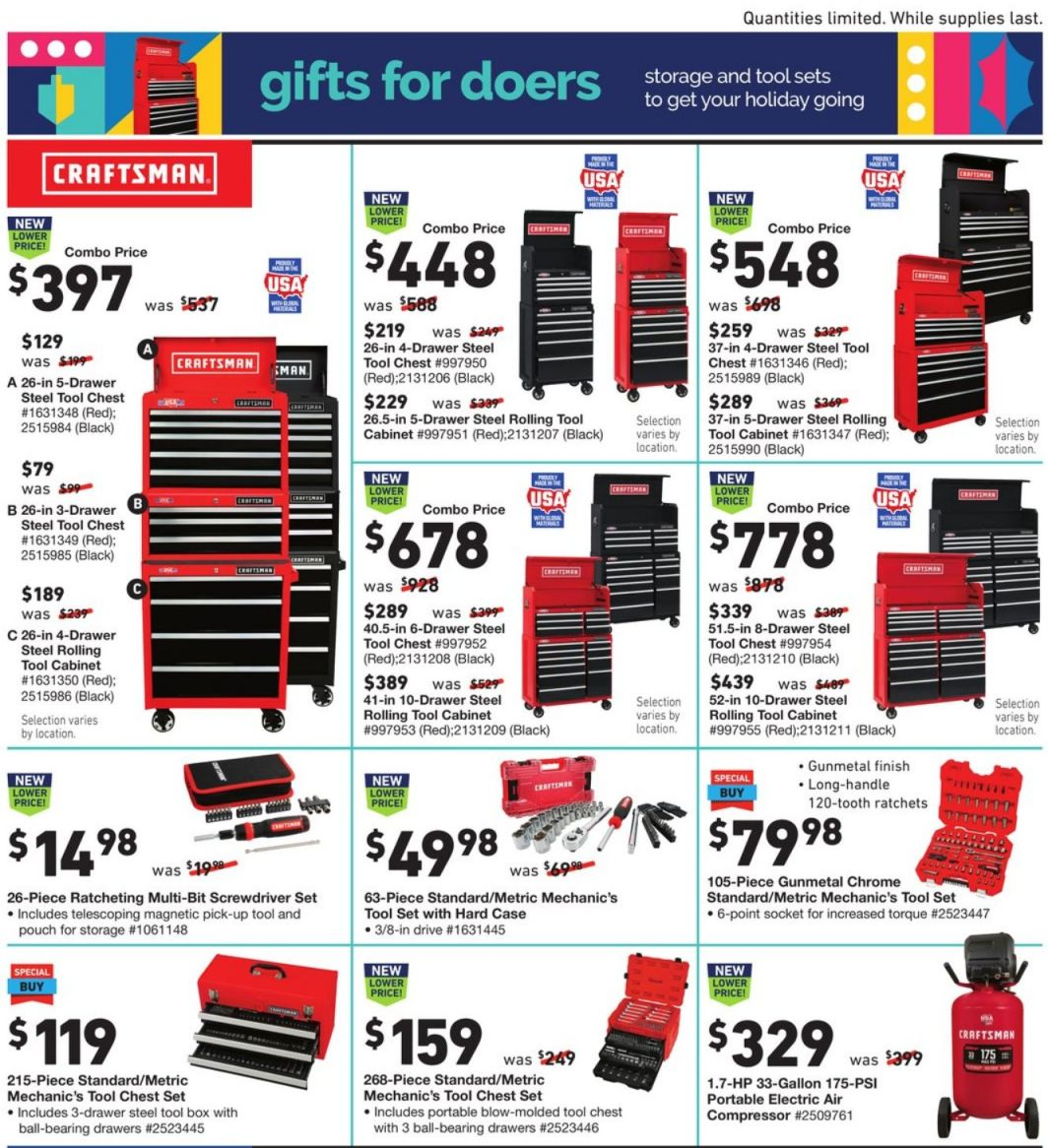 Lowe's Cyber Monday 2020 Page 13