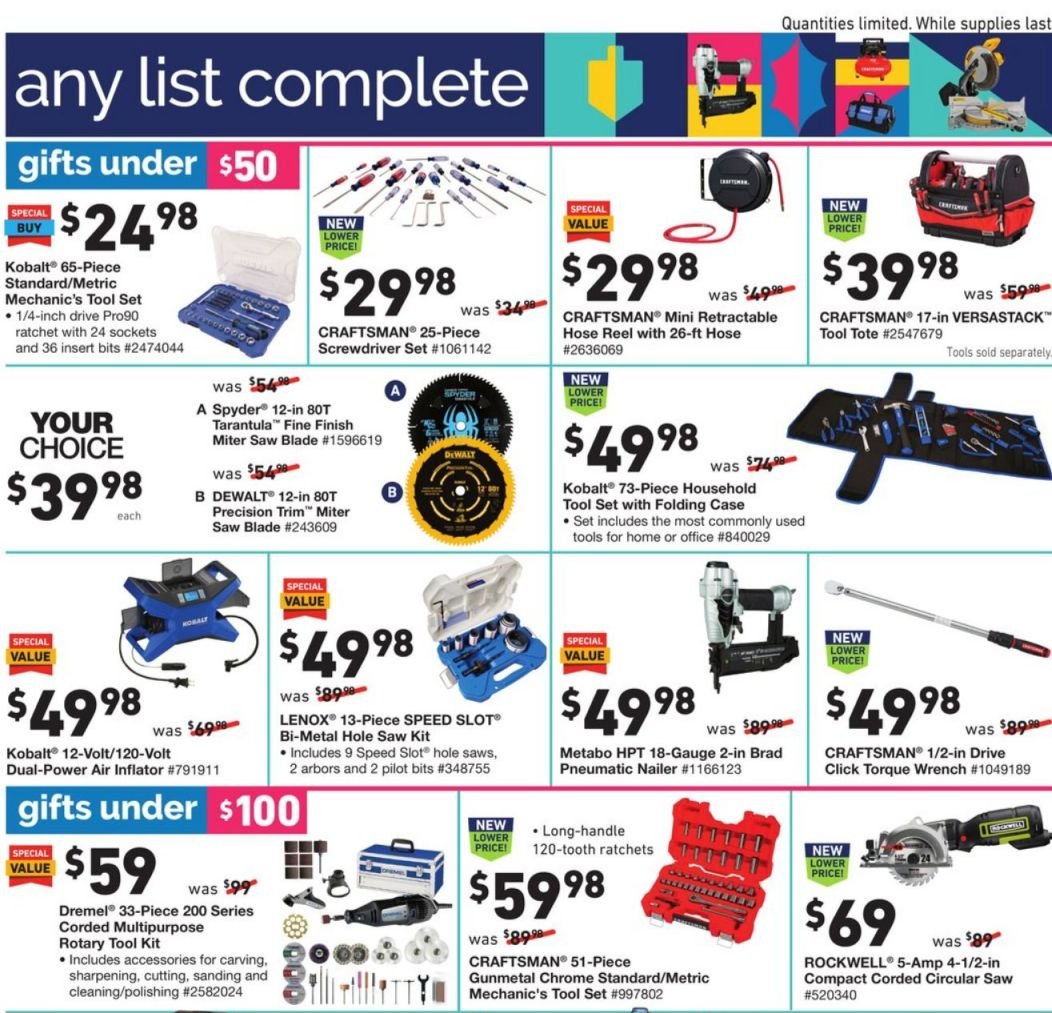 Lowe's Cyber Monday 2020 Page 17