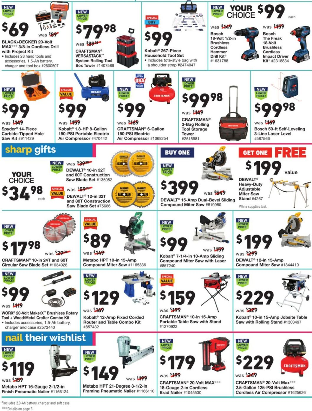 Lowe's Cyber Monday 2020 Page 18