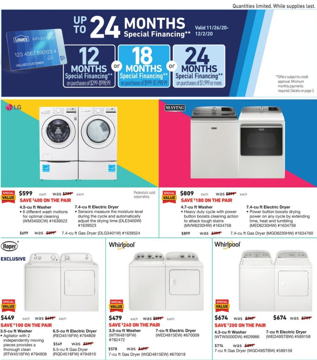 Lowe's Cyber Monday 2020 Page 25