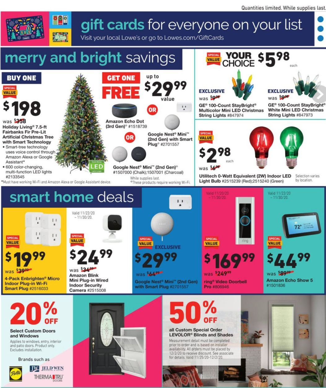 Lowe's Cyber Monday 2020 Page 27