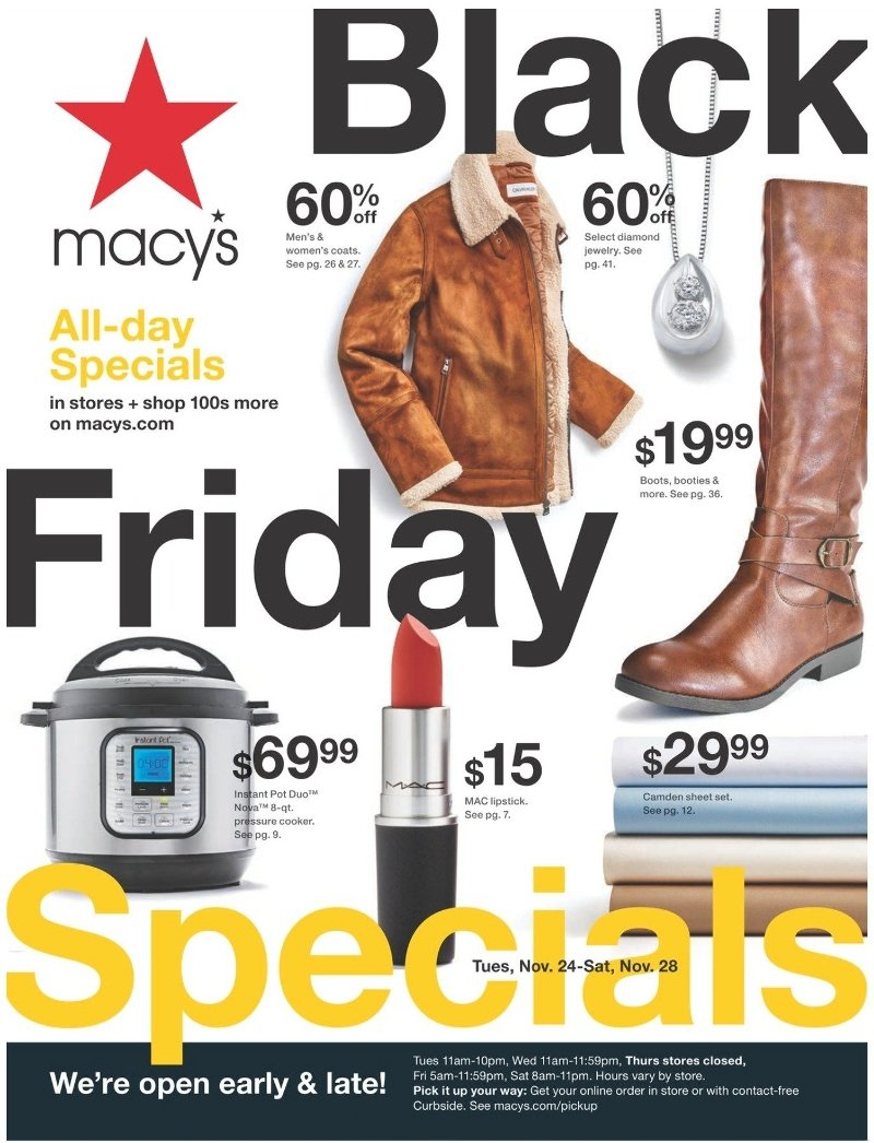 Macy's Black Friday 2020 Page 1
