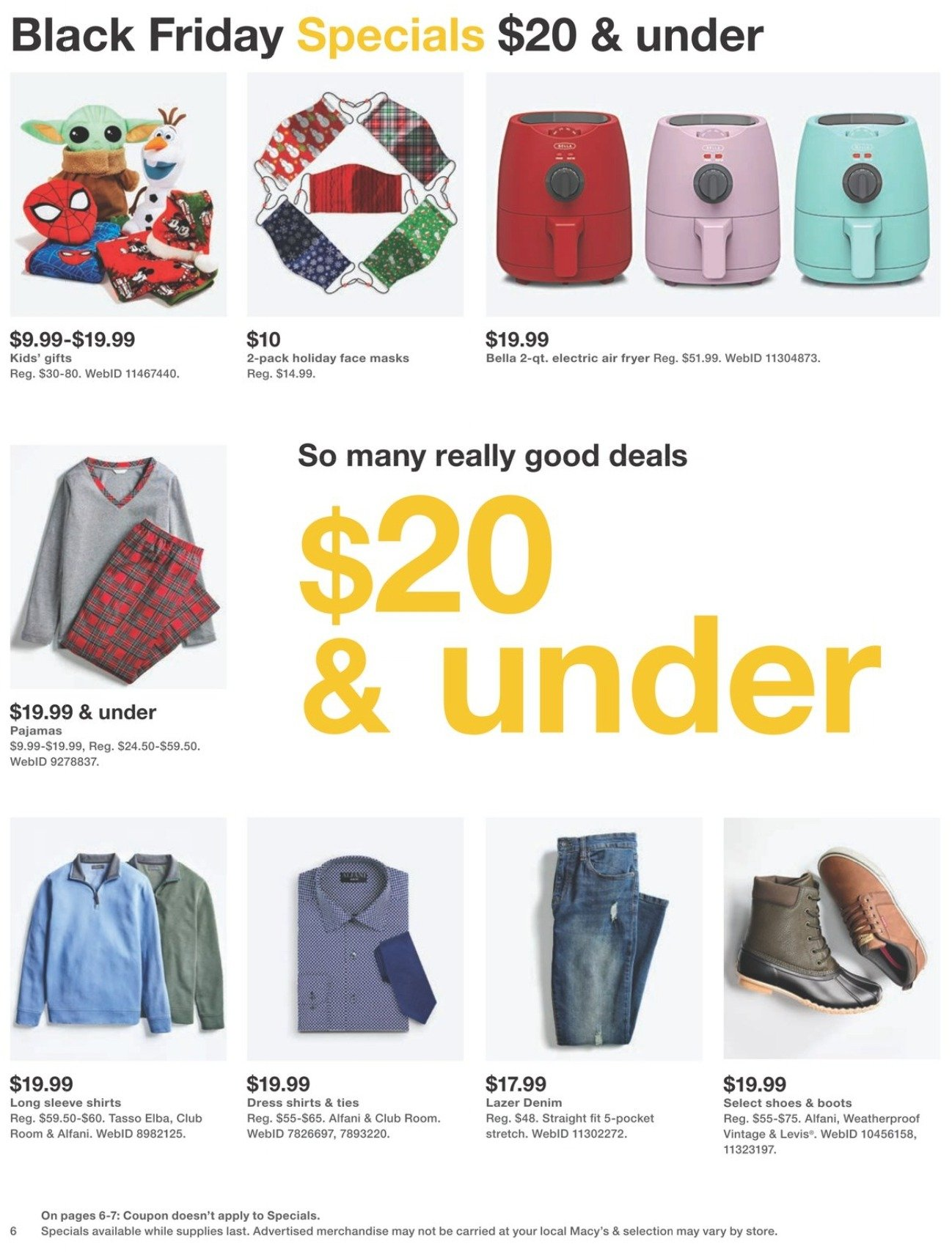 Macy's Black Friday 2020 Page 6