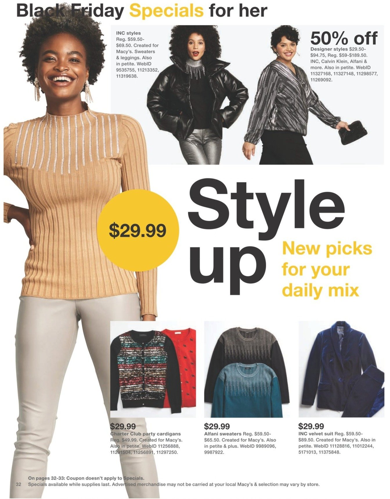 Macy's Black Friday 2020 Page 32