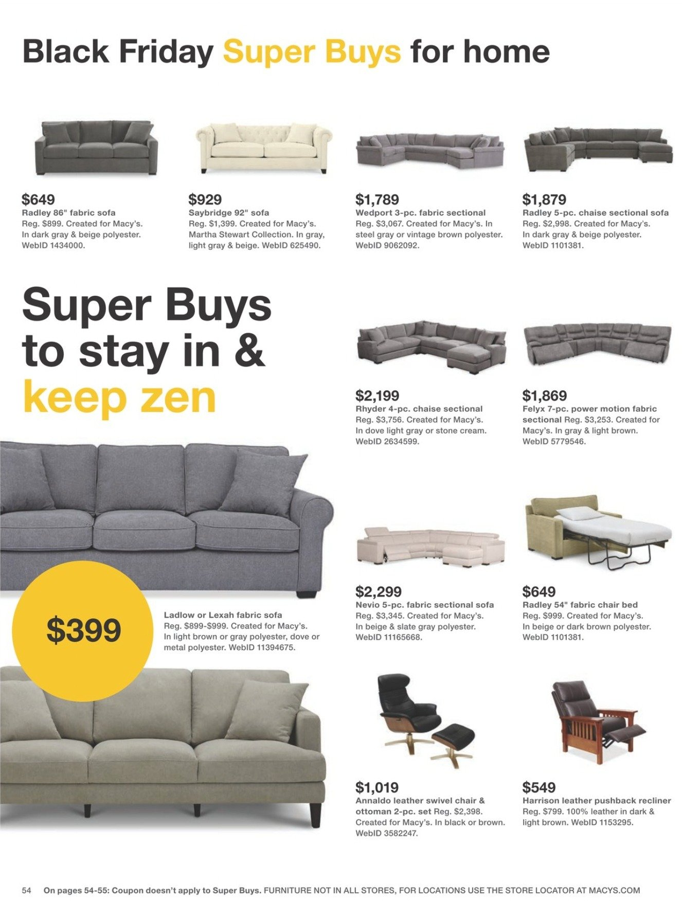 Macy's Black Friday 2020 Page 54