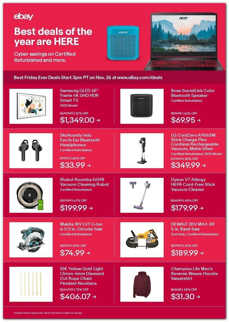 Ebay Black Friday 2020 Page 2