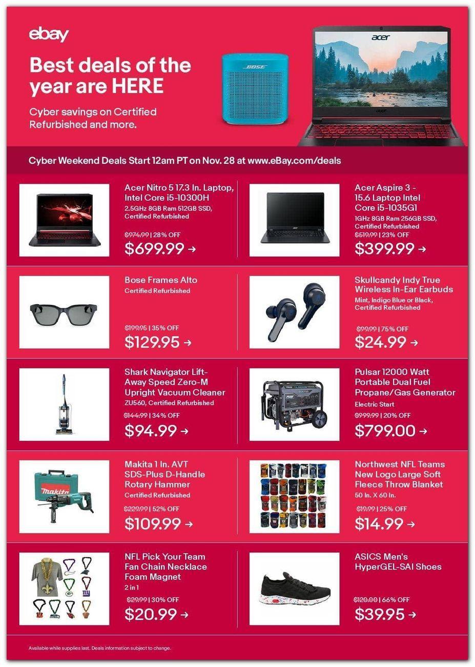 Ebay Black Friday 2020 Page 3