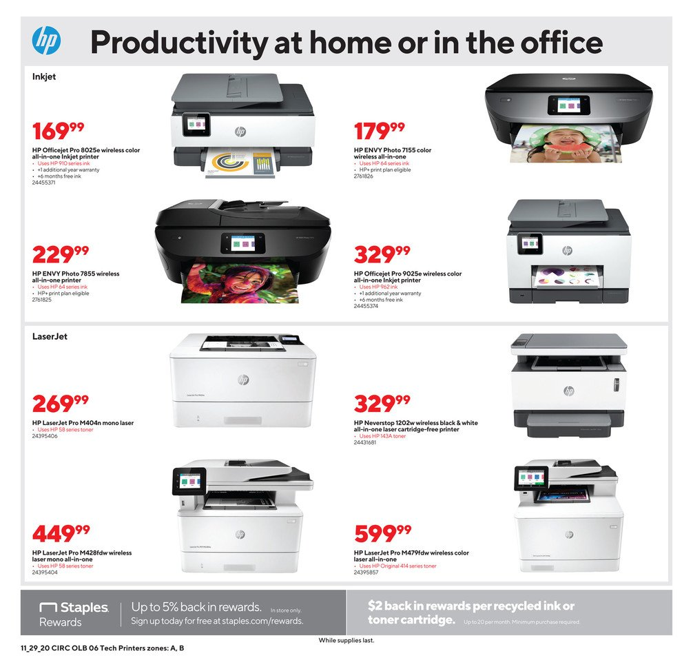 Staples Cyber Monday 2020 Page 11