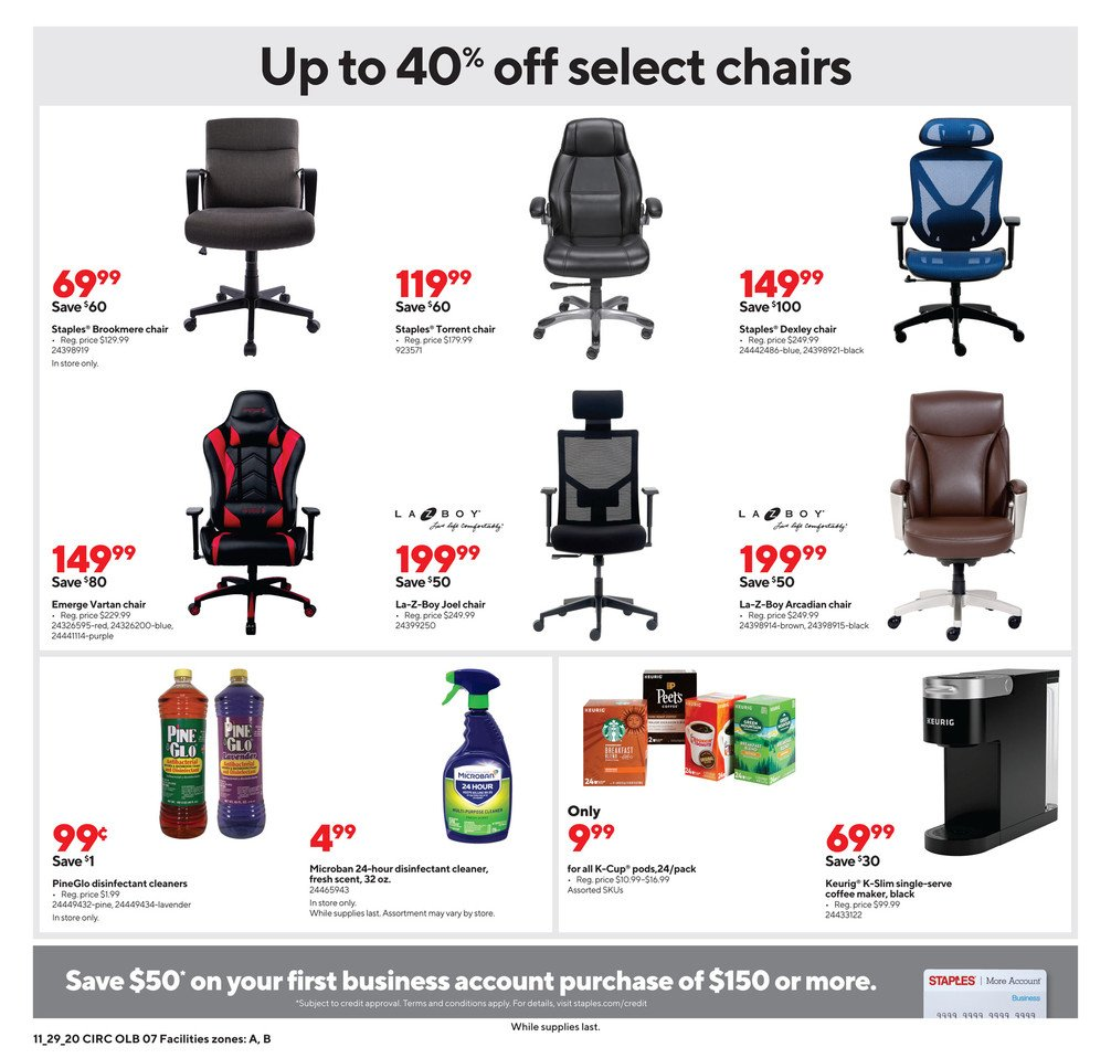 Staples Cyber Monday 2020 Page 12