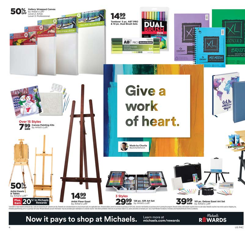 Michaels Cyber Monday 2020 Page 4