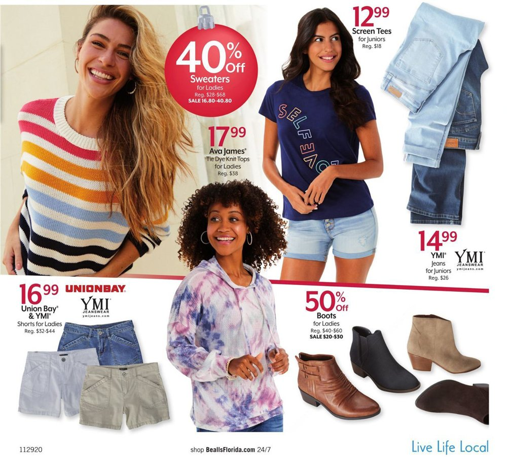 Bealls Florida Cyber Monday 2020 Page 3