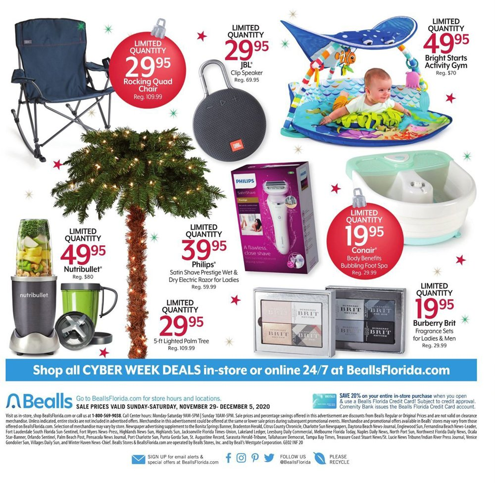 Bealls Florida Cyber Monday 2020 Page 8